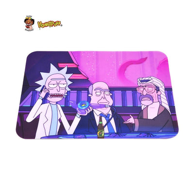 🐼 🐶 Rick and Morty Nonstick Foldable Silicone Wax Non Stick Oil Mat - Dope Smokes [variant_title], [option1],