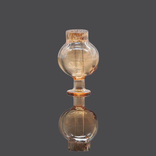 Premium Glass Carb Rounded Quartz Banger Carb Cap