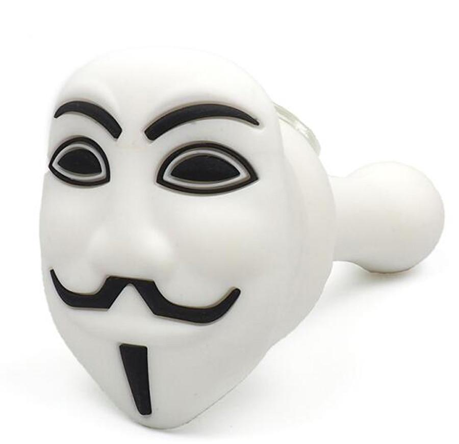 V For Vendetta Smoking Silicone Hand Pipes