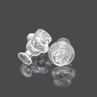 HORNET GTR Bubble Trap Glass Carb 35MM Pyrex Spinner Smart Dab Carb Capper