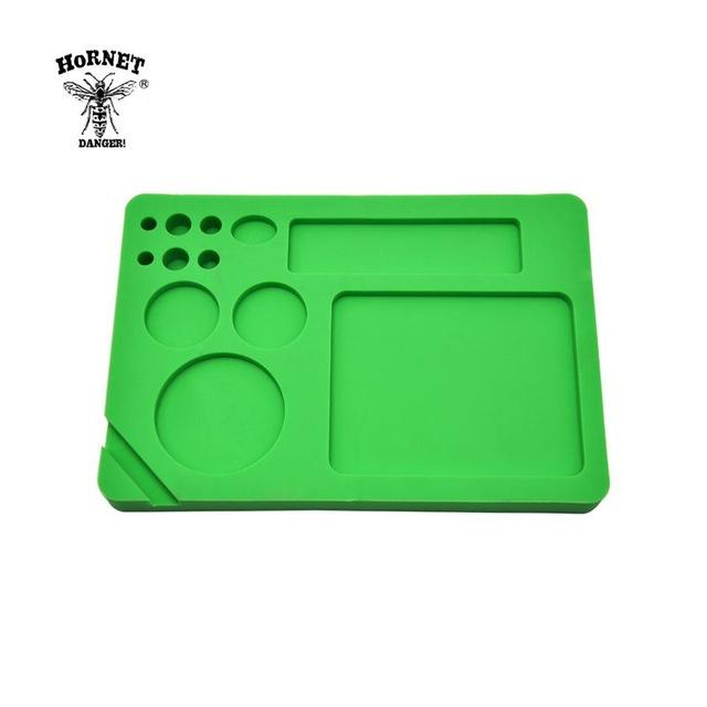 🐼 🐶 Food Grade Silicone Herb  228 x 158 MM Rolling Tray - Dope Smokes [variant_title], [option1],