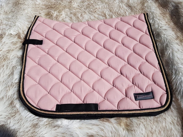 DM Classic Cotton Drill Saddle Pad -Musk Pink-