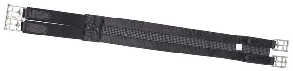 2 Buckle Elastic Girth - Black