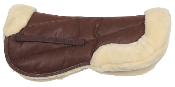 Suede/Fleece Half Pad