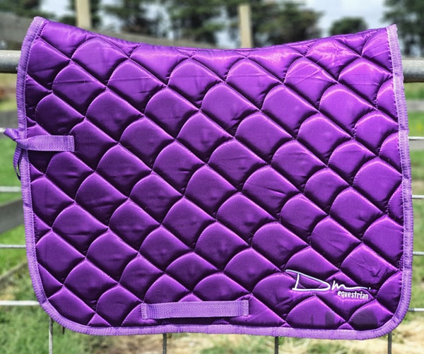 DM Grape Satin Quilt Pad