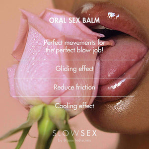 Bijoux Indiscrets Slow Sex Oral Sex Balm .34oz [57487]