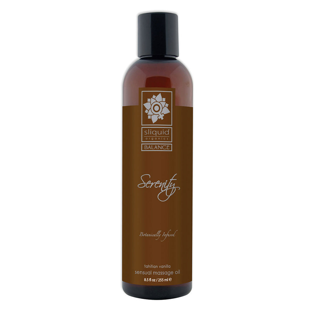 Sliquid Organics Massage Oil Serenity 8.5oz [84561]
