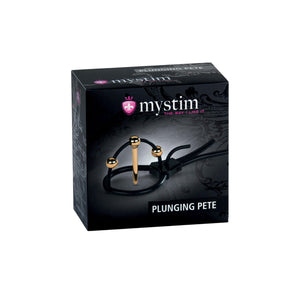 Mystim Plunging Pete - Corona Strap with Urethral Sound [A00423]