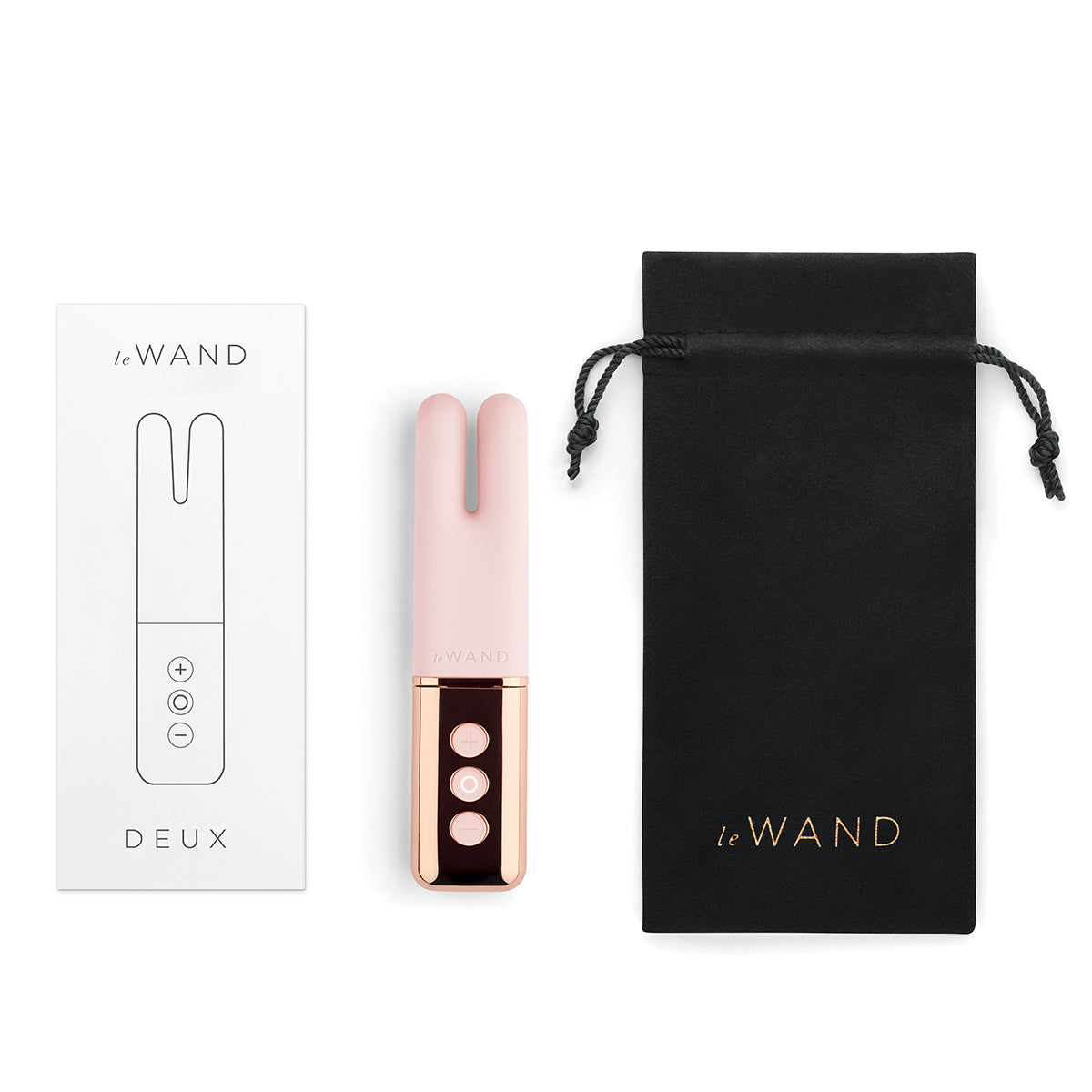 Le Wand Chrome Deux - Rose Gold [A01473]