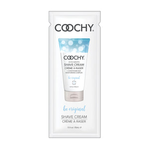 Coochy Shave Cream 15ml. 24pc. Display - Be Original [A01809]