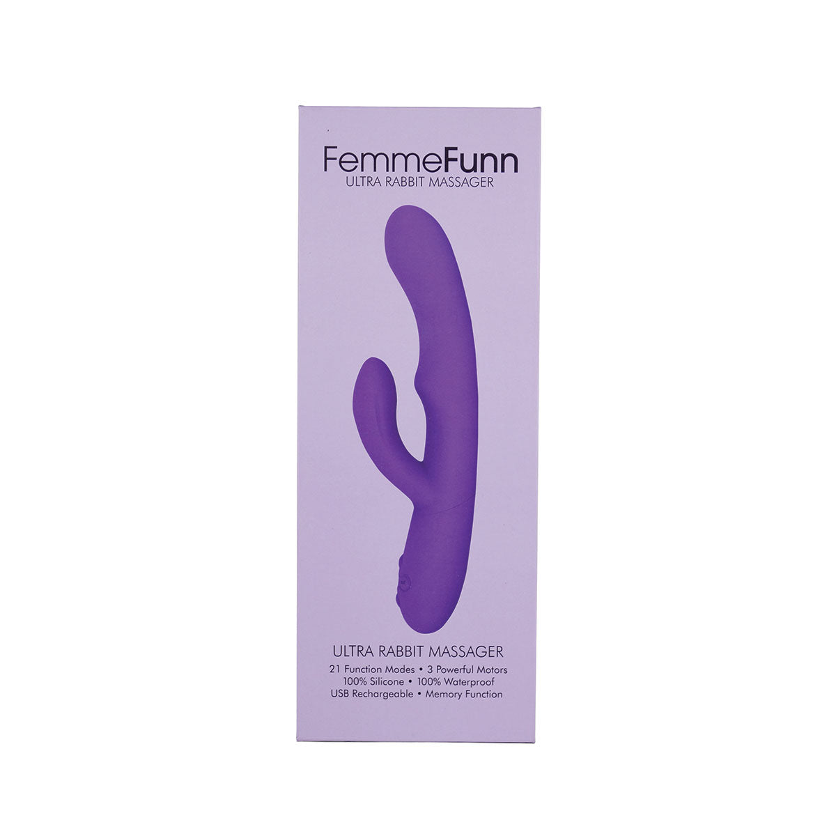Femme Funn Ultra Rabbit - Purple [A04038]