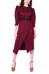 d248.ro - I See Stars - Rochie MISTERY Wine