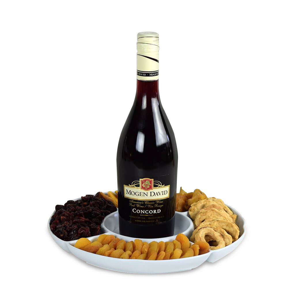 Time To Toast Kosher Wine Gift Basket