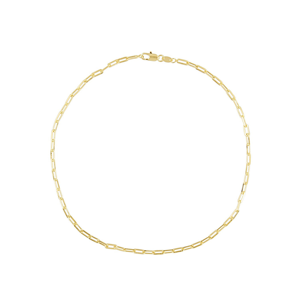 Codie Gold Link Necklace 16 In