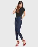 High Rise Skinny, Gem Jeans - Midnight