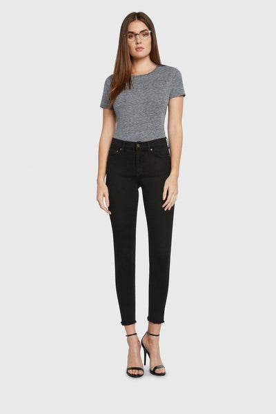 Principle High Rise Skinny Jeans -Gem-Black