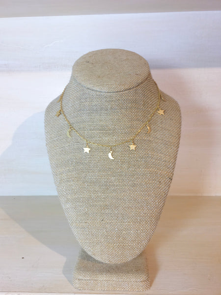 Gold 'Nighttime' Necklace