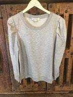 Going Casual Light Grey Sweatshirt