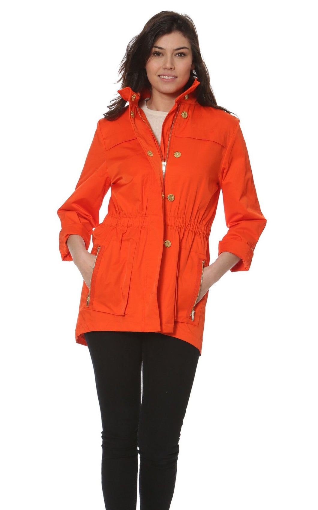 Ciao Milano Tess Jacket - Hermes Orange