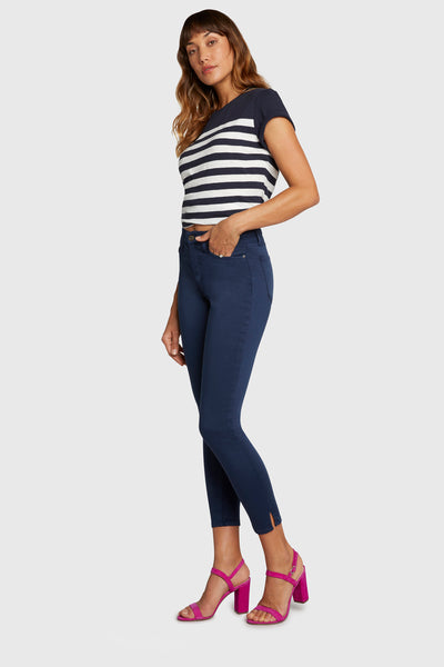 Prinicple  Skinny High Rise - Gem - In The Navy