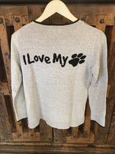 Load image into Gallery viewer, I love my Dog Knit Sweater