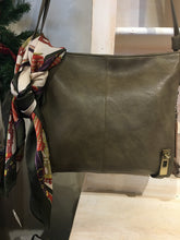 Load image into Gallery viewer, Olive Cross body with Side pockets for Concealed Weapon