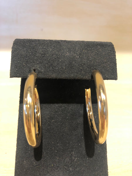 Medium Gold Hoop Earring