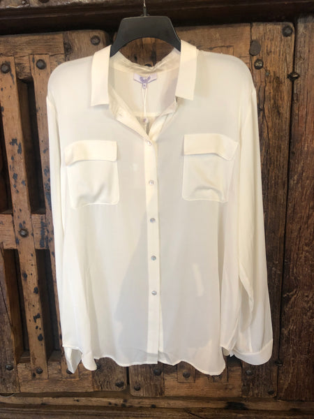 Nouvelle Monte Carlo Washable Silk blouse