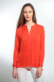 Washable Silk Shirt - Montenegro - Hi/Lo Hem - *Limited Stock*