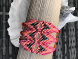 Cuff bracelet Orange Sunset