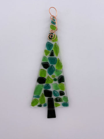 Green Tree Suncatcher -121