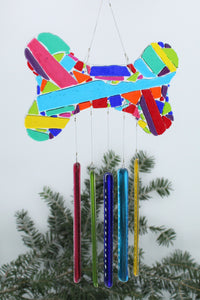 Dog Bone Wind Chime - 5001