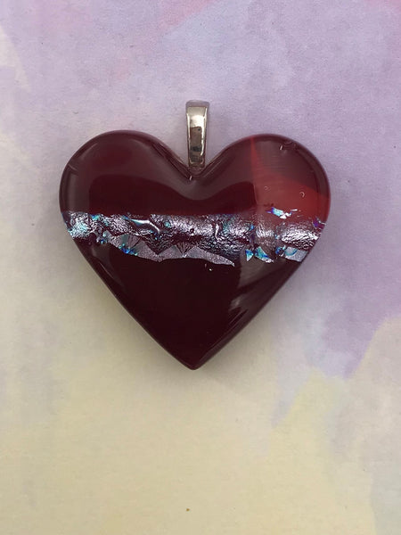 Red Heart Pendant - 1003