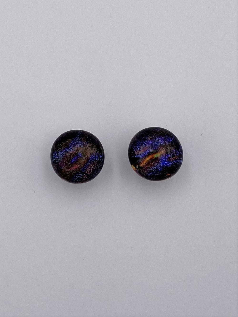 Dichroic Post Earrings -2009