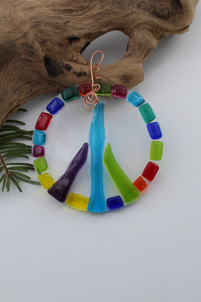 Piece Sign Suncatcher - 118