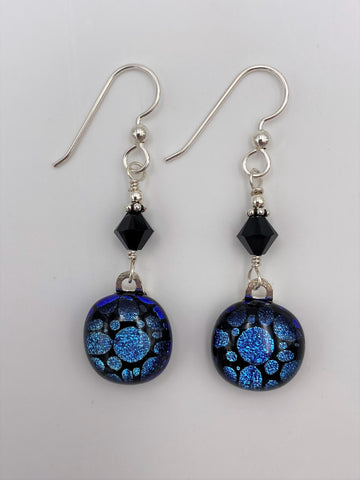 Dichroic Dangle Earring-2602