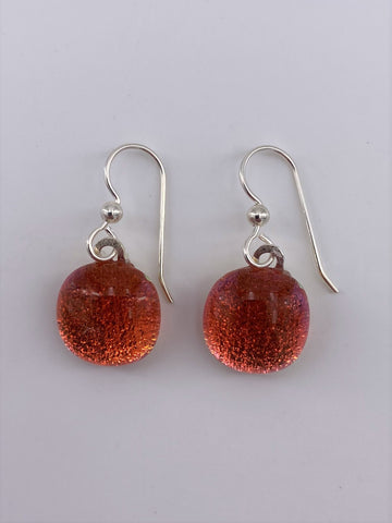 Dichroic Dangle Earring-2107