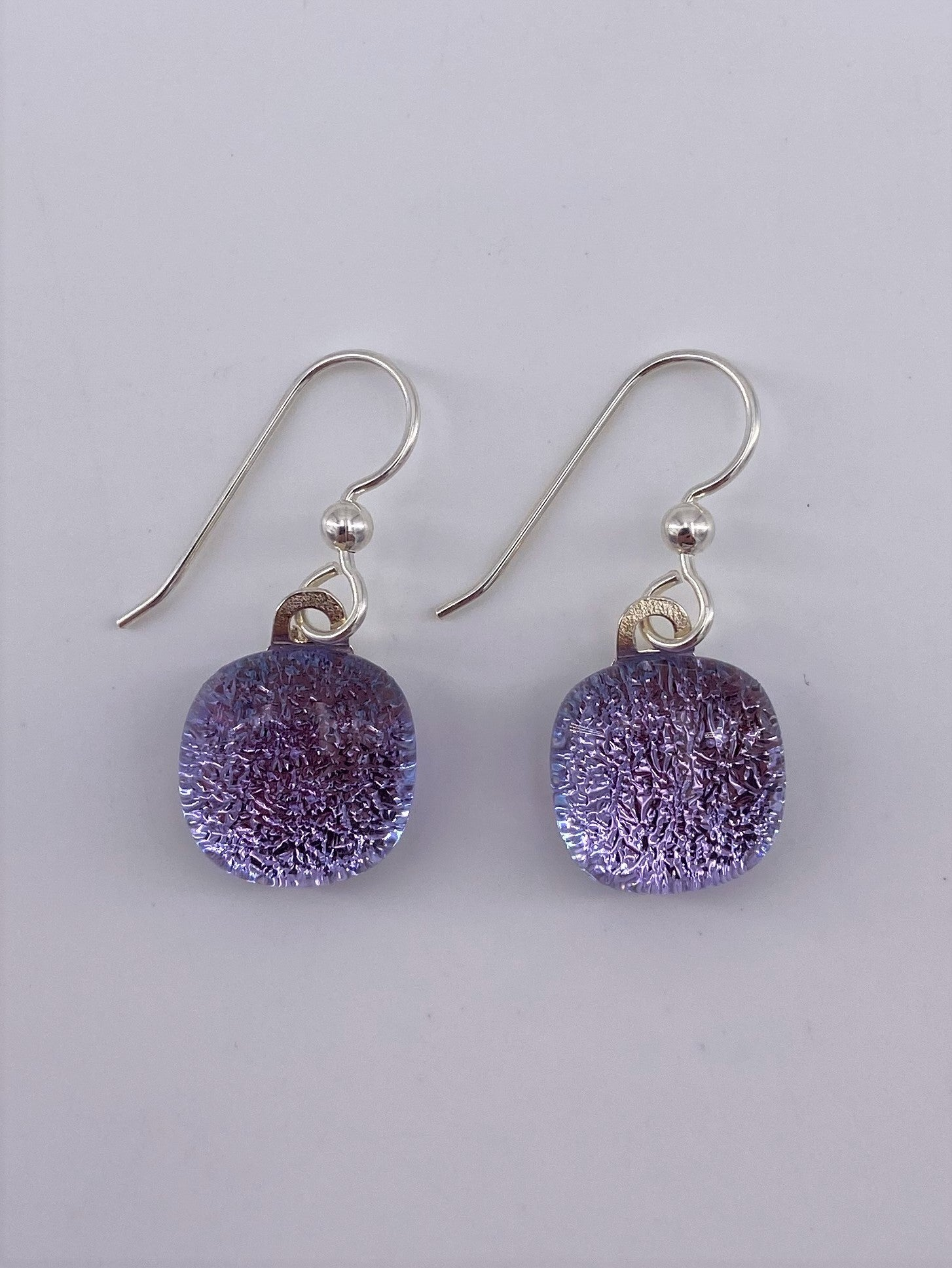Dichroic Dangle Earring-2102