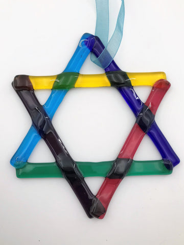 Star of David Suncatcher - 110