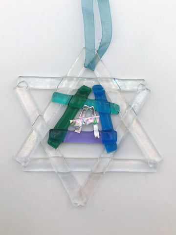 Star of David Suncatcher - 111