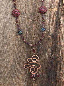 Red Copper Swirl - 3104