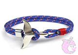 «Beach Busters» Whale Tail Anchor Bracelets