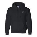Hoodie - Black Bolted