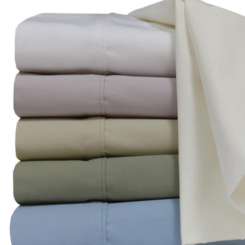 Percale Sheet Set - 250 Thread Count-Royal Tradition-Egyptian Linens