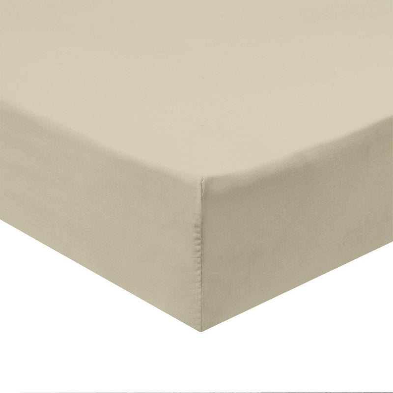 Flex Top California King Fitted Sheet Only -Solid 340 Thread Count-Royal Tradition-Linen-Egyptian Linens