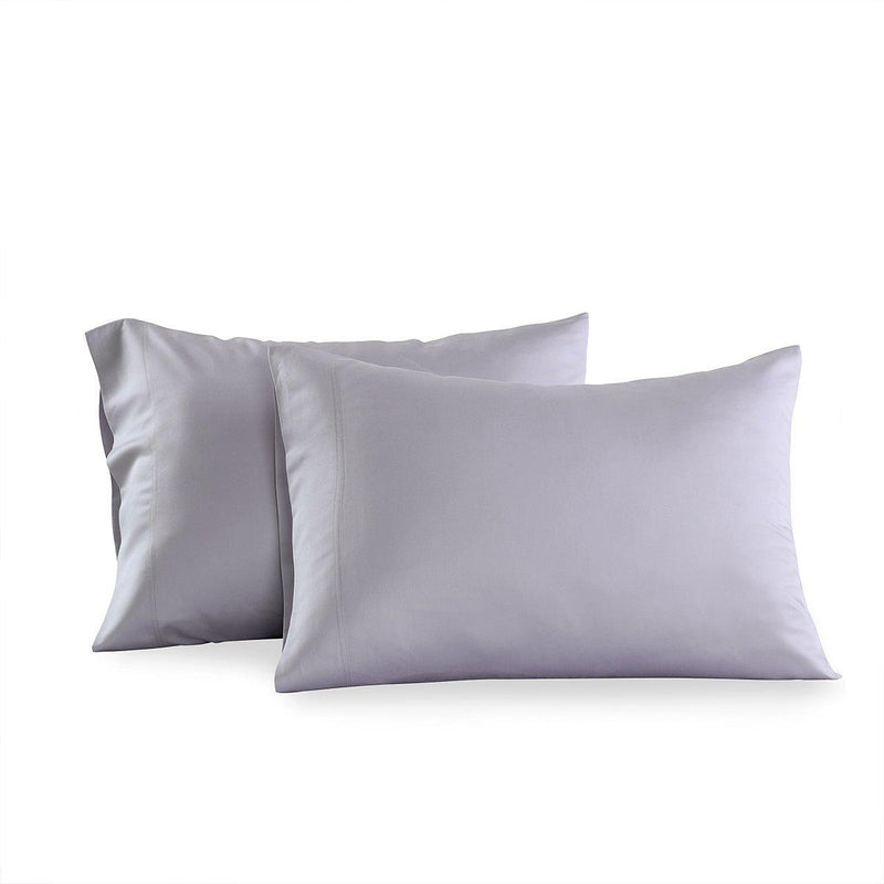 Eucalyptus 600 Tencel Loycell Pillowcases (Pair)-Abripedic-Standard Pillowcases Pair-Iris-Egyptian Linens