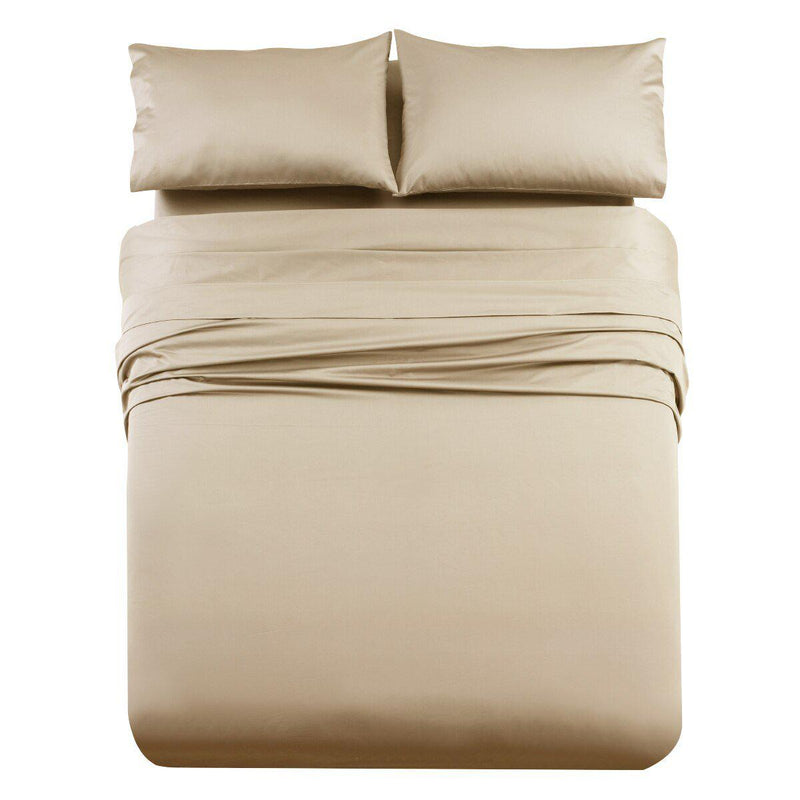 Luxury & Heavy 1000 Thread Count Solid Sheet Set-Royal Tradition-Queen-Linen-Egyptian Linens