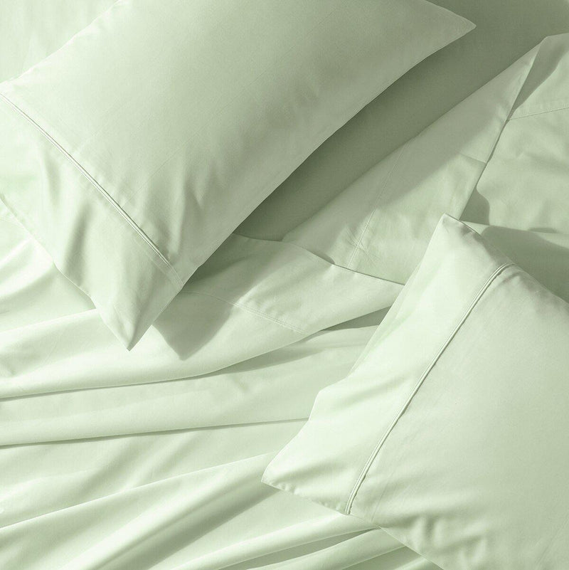 Flex Top California King Sheet Set - Abripedic Percale-Abripedic-Celery-Egyptian Linens