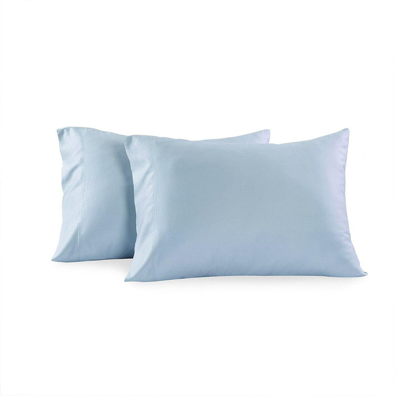 Luxury 1000 Thread Count Solid Pillowcases (Pair)-Royal Tradition-King Pillowcases Pair-Blue-Egyptian Linens