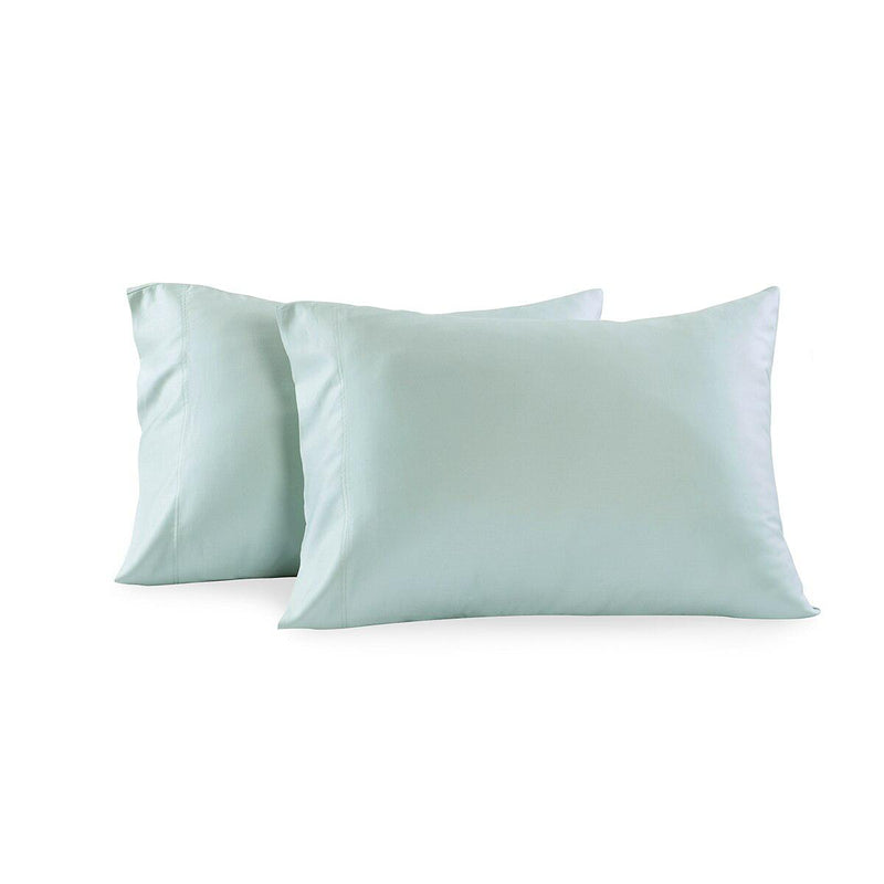 Luxury 1000 Thread Count Solid Pillowcases (Pair)-Royal Tradition-Standard Pillowcases Pair-Sea-Egyptian Linens